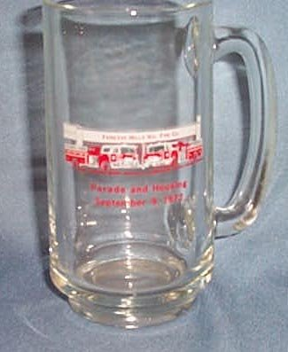 Fairless Hills (PA) Vol. Fire Co. Parade and Housing glass mug