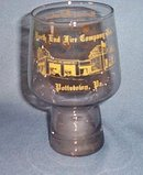 North End Fire Company No. 1, Pottstown PA glass
