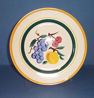 Stangl 11 inch fruit pattern plate