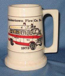 Quakertown (PA) Fire Co. No. 1 ceramic mug