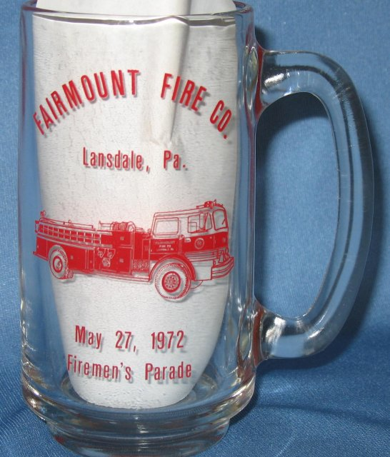 Fairmount Fire Co., Lansdale PA Firemen's Parade mug