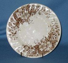 Briar Rose Rococo bread plate