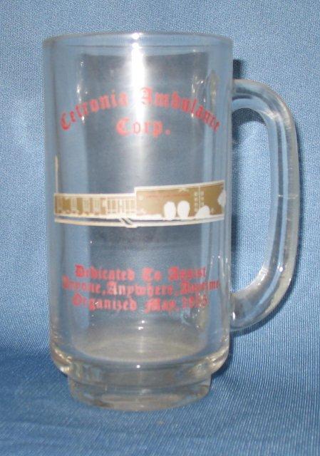 Cetronia (PA) Ambulance Corp. glass mug