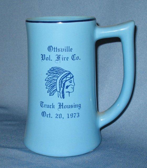 Ottsville (PA) Vol. Fire Co. Truck Housing ceramic mug