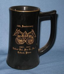 Telford (PA) Fire Co. #1 70th Anniversary ceramic mug