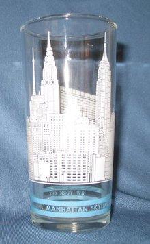 Manhattan Skyline souvenir tumbler