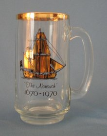 The Nonsuch 1670-1970 souvenir glass mug