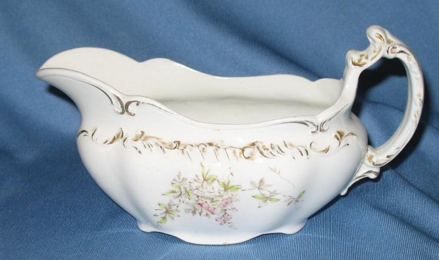 Wedgwood & Co. England semi-porcelain gravy boat