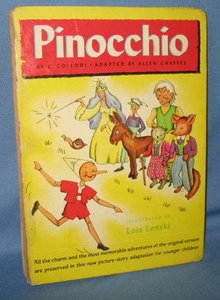 Pinocchio by C. Collodi, adapted by Allen Chaffee, illustrated by Lois Lenski