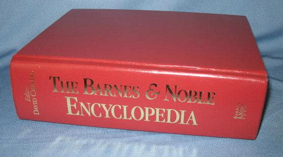 The Barnes & Noble Encyclopedia Based on the Cambridge Encyclopedia edited by David Crystal