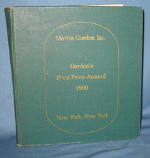 Gordon's Print Price Annual 1980