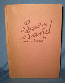 Signature in Sand by Patricia Benton