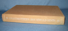 Grandmother's Household Hints: As Good Today as Yesterday by Helen Lyon Adamson