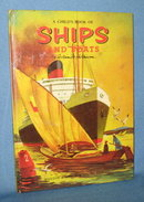 A Child's Book of Ships and Boats by William M. Hutchinson