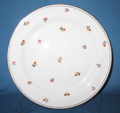 Homer Laughlin Nautilus Cardinal dinner plate