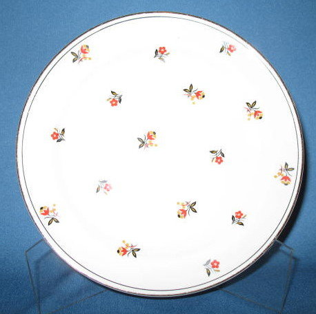 Homer Laughlin Nautilus Cardinal salad plate