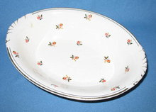 Homer Laughlin Nautilus Cardinal oval vegetable bowl