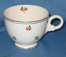 Homer Laughlin Nautilus Cardinal cup
