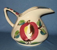 Purinton Apple 5 Pint Pitcher