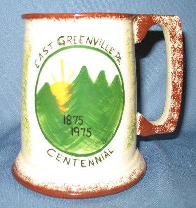 East Greenville (PA) Centennial ceramic mug