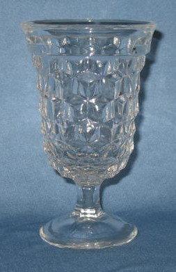Fostoria American 5.5 inch high goblet