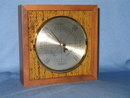 Wooden cased barometer made in West Germany