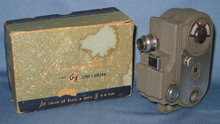 Cinemaster II G-8 8mm film camera