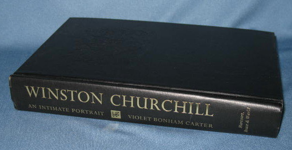 Winston Churchill: An Intimate Portrait by Violet Bonham Carter