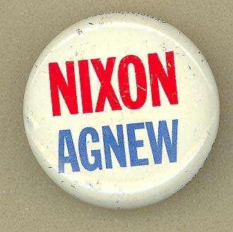 Nixon Agnew pinback