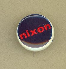 Nixon  pinback