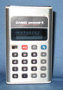 Casio Personal-8 electronic calculator