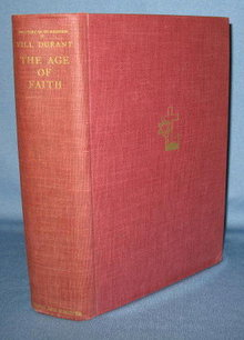 The Age of Faith by Will Durant, The Story of Civilization volume 4