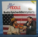 The Great American Fiddle Collection: Buddy Spicher and Benny Martin 33 RPM LP 2 record set