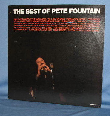 The Best of Pete Fountain  33 RPM LP  record