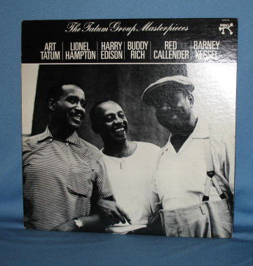 The Tatum Group Masterpieces 33 RPM LP  record