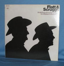 Flatt & Scruggs: 20 All-Time Great Recordings in a Deluxe 2-Record Set 33 RPM LP  records
