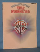 Warner Bros. Presents Popular Instrumental Solos for Tenor Sax