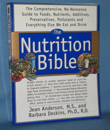 The Nutrition Bible by Jean Anderson and Barbara Deskins
