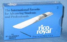 Rico Royal B-flat Clarinet  reeds