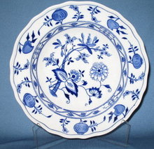 Royal Cauldon Meissen blue onion bowl