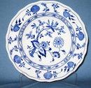 Royal Cauldon Meissen blue onion bowl