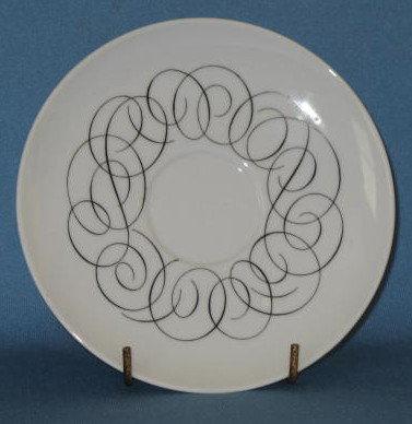 Rosenthal/Continental China Script saucer