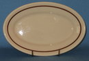 Sterling China (USA) Desert Tan relish tray