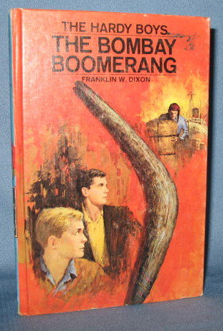 The Hardy Boys The Bombay Boomerang  by Franklin W. Dixon