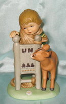 Franklin Porcelain The U. N. Children collection Fritz from Austria