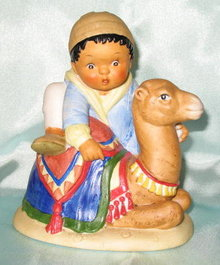 Franklin Porcelain The U. N. Children collection Khalil from Morocco