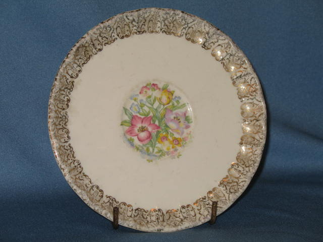 W. S. George French Bouquet saucer