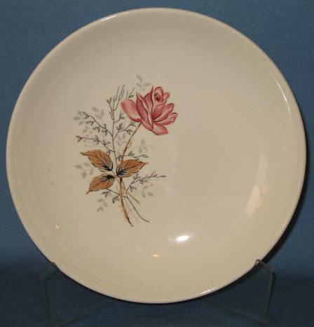Canonsburg Royal Rose soup bowl