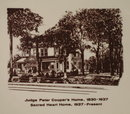 Judge Peter Cooper's Home, Sacred Heart Home, Coopersburg, PA collector's plate