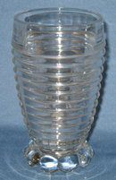 Manhattan depression glass tumbler